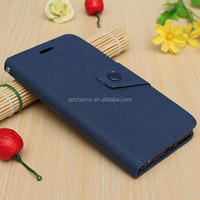 High Quality Wallet Button Leather Flip Skin For iPhone 6 Plus 5.5 Pouch Case Cover Stand Card Holder Bag Protector For Apple