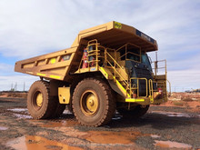 CAT 777 F Rigid Dump Trucks 2011 Models with Mine Spec.