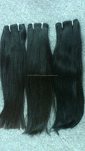 Double drawn weft track Vietnamese natural hair remy hair extension.