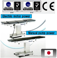 wholesale medical supplies, Japanese operating table, selectable from electric moter power or manual pump power or both