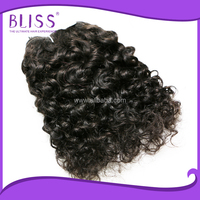 kids ponytail hair extension,super curly indian remy hair wefts