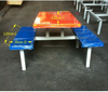 Table and chair Set for Food court ./ Canteen