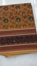 Handloom fancy cotton sarees
