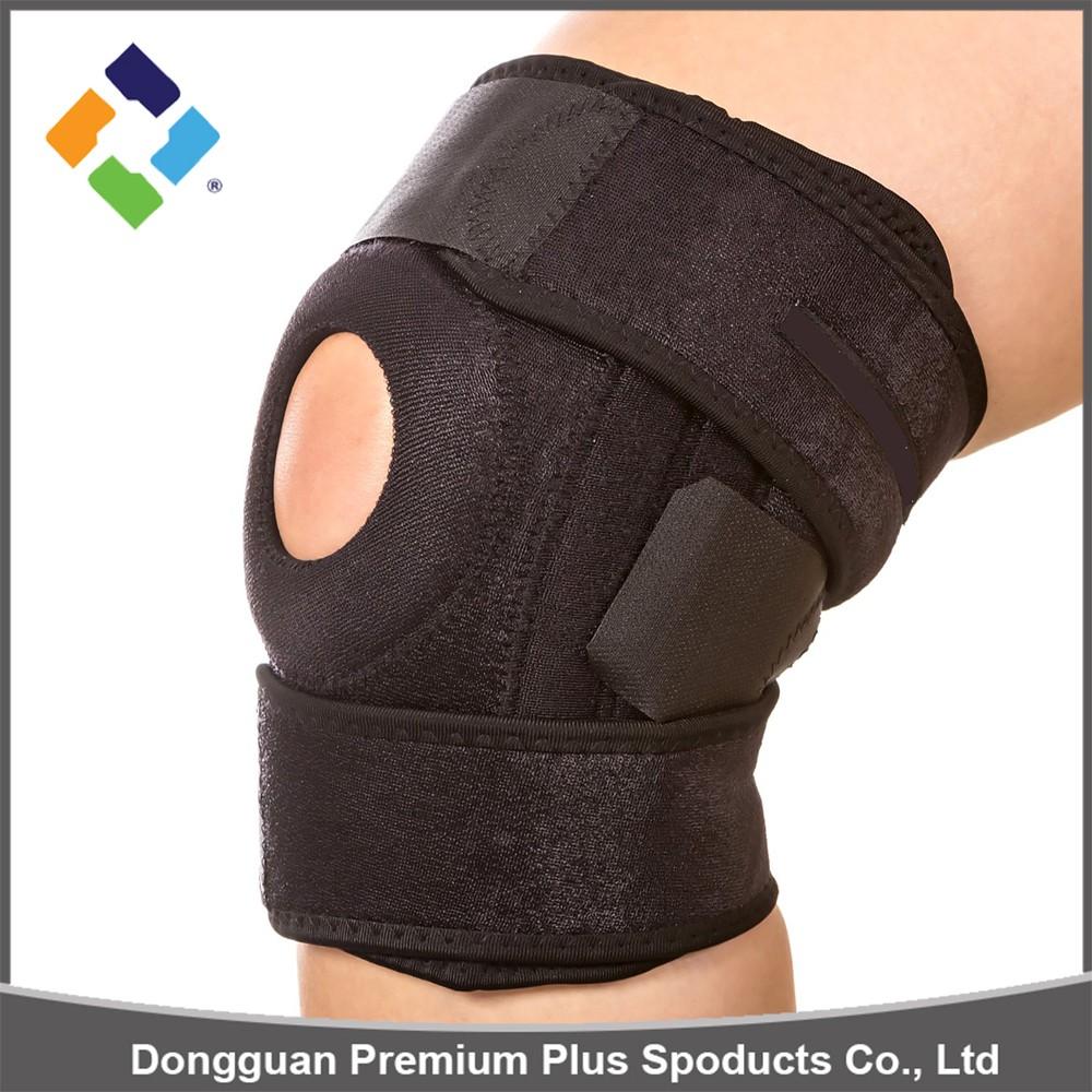 how to wear open patella knee brace