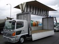 USED TRUCKS - HINO BOX BODY TRUCK (RHD 820725 DIESEL)