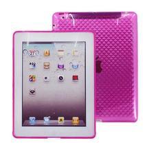 3D Diamond Case for iPad2, NewiPad-Rose