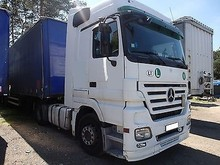 Used MercedesBenz ACTROS 1844 4x2 Tractor Unit - Left Hand Drive - Stock no: 12840