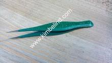 new crystal color pointed tweezers also great for splinter/ best ingrown hair tweezers