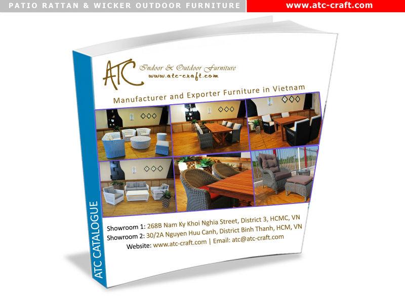 (1.2mm Alumi frame powder coated, anti UV PE rattan,waterproof cushion 250g) 2015 Hot Selling PVC Wicker Patio Outdoor Furniture