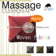 Easy operation car massage cushion with built-in heater available in many different color