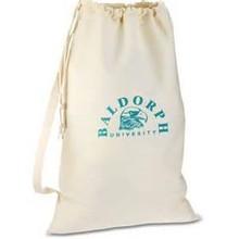 canvas laundry bag with custom design
