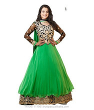 Pakistani Long Frocks | Pakistani Girls Frocks And Dresses | Salwar Kameez Semi Stitched Frock Suit