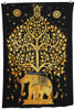 Yellow Indian Elephant UnderTree Mandala Indian Hanging Art Tapestries Hippie Hippy Tapestry Manufacturer In India Jaipur