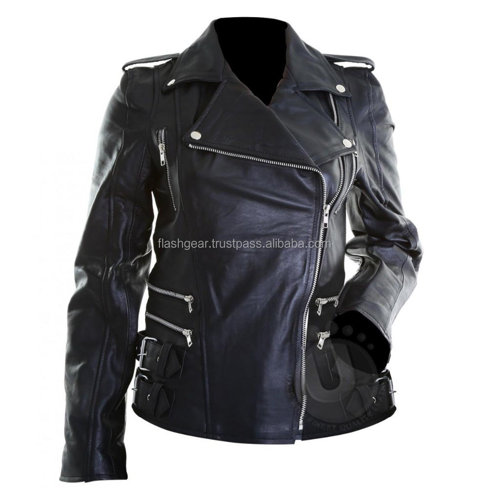 Womens Motorcycle Style Jackets