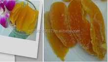 Dry mango, Dried fruit Thailand in slice, dice pieces