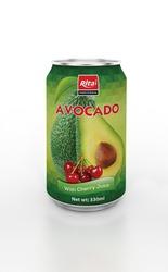 330ml Avocado with Cherry Juice