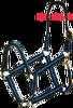 Tough 1 Black & Blue Nylon Economy Halter Horse Tack Equine
