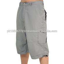 los hombres pantalones cortos al por mayor de moda caliente casual los hombres pantalones cortos de deporte con bolsillos