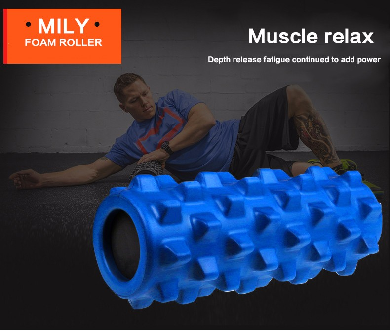 foam roller with massage stick