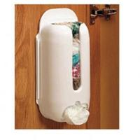 Wall Mount Plastic Carrier Bag Storage Container Holder Organizer Recycle Box #30342