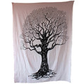 el árbol de la india mantas impresas del dormitorio hipie cubrecama tapiz