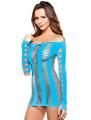 sensual vestido 100% venta al por mayor elegante y sexy vestido de ropa intima