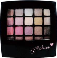 20 colors pink brown Eye shadow eye make-up Made in japan