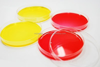 Chemical lab supplies 90mm sterile ps plastic petri dish