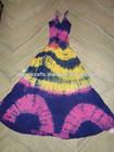 algodão tie dye vestido das senhoras pack de 50 unidades