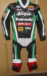 Motorcycle leather racing suits