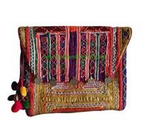 Ethnic Handmade Fabric Handbag from handicraft.vn