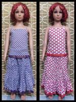 Children Clothes / Clothing Sets Fancy Skirt Top Set