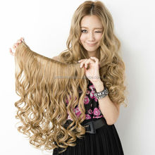 Latest trends synthetic hair extension with Japanese design