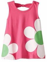 infant girls sleeveless tunic / childress dress maker / baby dress manufacturer bangladesh