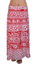 diseño más largos envuelva algodón faldas