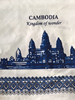 Angkor wat Thai print cotton 100% soft fabric Dobbytex for Cambodia market width 44/45 inches