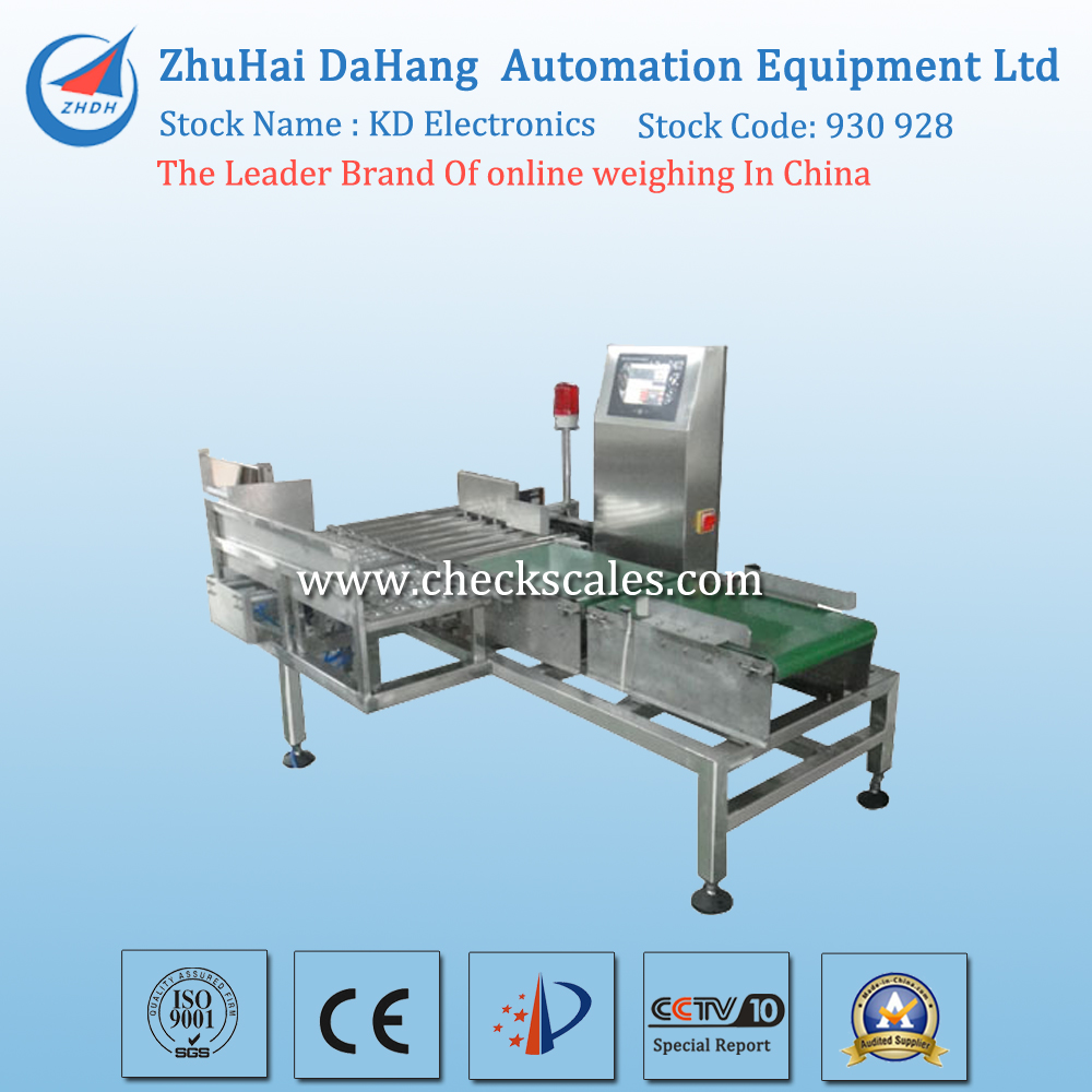 Automatic Checkweigher Weighing Checker For Box Packaging