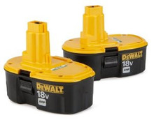 Discounted + Free Shipping Original DEWALT DC9096-2 18-Volt XRP 2.4 Amp Hour NiCad Pod-Style Battery (2-Pack)
