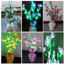 vase motif light holiday light LED festival /wedding/party/house/club/bar decorative string light