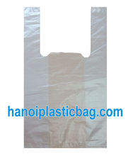HDPE/LDPE TSHIRT / VEST CARRIER PLASTIC BAG