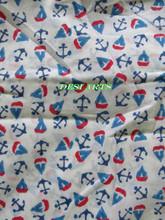 BRT-20 Unique ship & arrow designsHand Block flower Hand Made Print Cotton Fabric cotton printed fabric Manufacturer from Jaipur