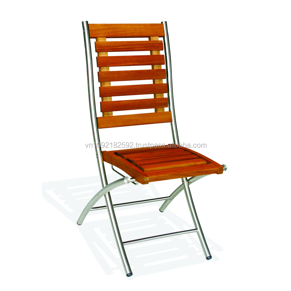Steel Chairs Product : Siena folding chair stainless steel chairs outdoor