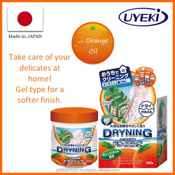 Human-friendly versatile detergent laundry soap made from natural orange oil