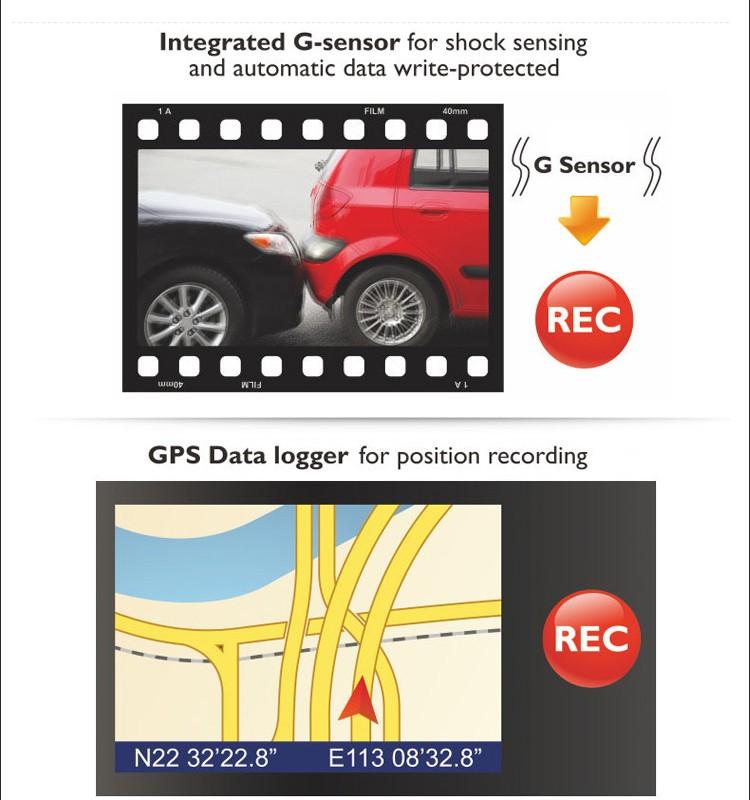Philips zoom digital de 4 vezes o melhor dashcam com gps