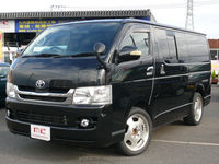 Reasonable used toyota vans HIACE super GL 2009 used car with Good Condition made in Japan