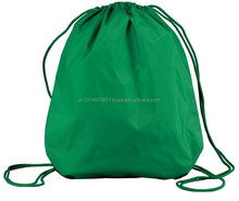 Blue laundry drawstring nylon big bag