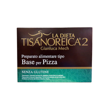 Tisanoreica2 Base For Gluten Free Pizza 4 Envelopes 31,5g