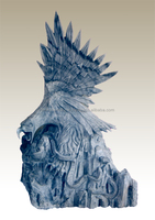 Eagle Statues Hand Sculpture Carving Stone Marble For Outdoor, Garden, Room, Home And Restaurant