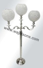 Fashionable Shiny Crystal Candelabra And Centerpiece Manufactured By Wajidsons Corporation