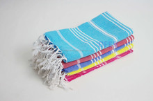 Hand Size Turkish towel - tea towel, hammam, pestemal towel Direct from Factory, peshkir